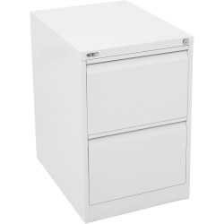 FILING CABINET 2 DRAWER GO WC WHITE CHINA