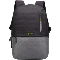 Mokey Odyssey BackPack Fits up to 15.6inch Laptop Black / Grey